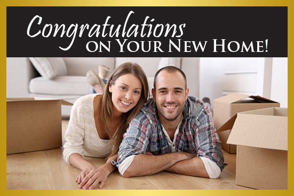 Congratulations on your new home! Shop Local at Floors & More Abbey Carpet - keep those dollars in our community!