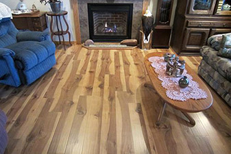 Residential Home Project completed by Floors & More Abbey Flooring
